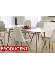 Duży Stół ROZKŁADANY 120-200cm Ebis OUTLET w sklepie Dedekor.pl