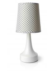 Stylowa biała lampa stołowa  w sklepie Dedekor.pl