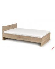 Komfortowe łóżko MILAN dąb sonoma w sklepie Dedekor.pl