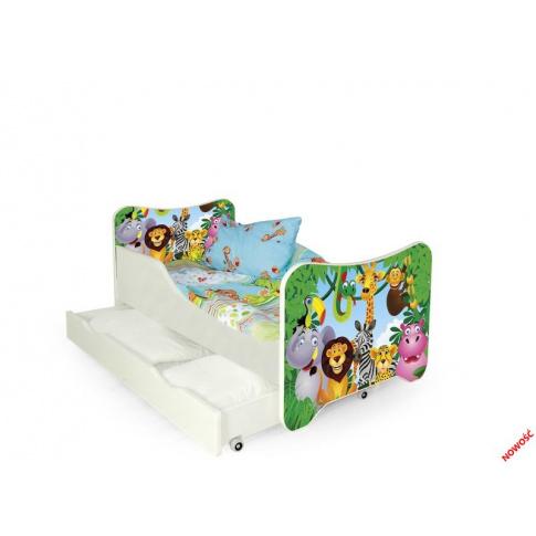 Znakomite łóżko dziecięce ANIMALS w sklepie Dedekor.pl