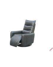 Nowoczesny recliner MIDAL popielaty w sklepie Dedekor.pl