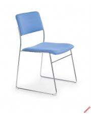 Niebieski fotel konferencyjny RODI w sklepie Dedekor.pl
