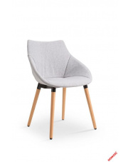 Piękne krzesło MELISE - jasny popiel w sklepie Dedekor.pl