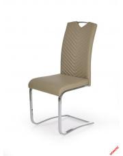 Komfortowe krzesło VIRTUS - beż w sklepie Dedekor.pl