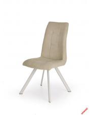 Piękne krzesło HILARY beżowe w sklepie Dedekor.pl
