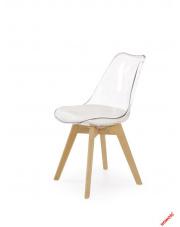 Piękne krzesło LAURIS eco skóra w sklepie Dedekor.pl