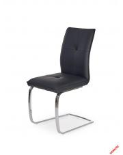 Eleganckie krzesło MILDO czarne w sklepie Dedekor.pl