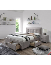 Nowoczesne łóżko MONA z szufladami w sklepie Dedekor.pl