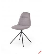 Komfortowe krzesło REVIS popielate w sklepie Dedekor.pl