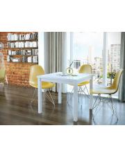 Stół rozkładany biały Cubico- 3 kolory w sklepie Dedekor.pl