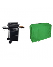 Zielony pokrowiec na grill - 150x100x125 cm w sklepie Dedekor.pl