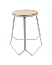 Nowoczesny stołek MAX - biały w sklepie Dedekor.pl