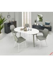 Biało - popielaty stół rozkładany ORTON w sklepie Dedekor.pl