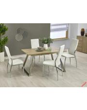 Stół rozkładany ALTOS - biel i dąb sonoma w sklepie Dedekor.pl