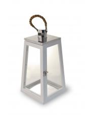 Piękna latarnia SOFIA - biała w sklepie Dedekor.pl