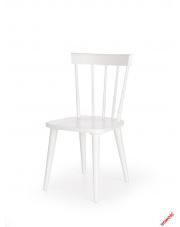 Skandynawskie krzesło ORTO - białe w sklepie Dedekor.pl
