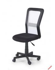 Komfortowy fotel młodzieżowy GIGI czarno - biały w sklepie Dedekor.pl