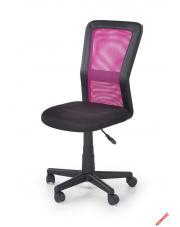 Nowoczesny fotel młodzieżowy GIGI czarno - różowy w sklepie Dedekor.pl
