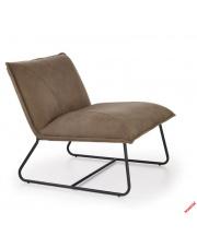 Komfortowy fotel wypoczynkowy AZIZ - beżowy w sklepie Dedekor.pl