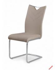 Eleganckie krzesło KIMBI - cappuccino w sklepie Dedekor.pl