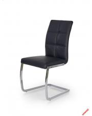 Stylowe krzesło NARINE - czarne w sklepie Dedekor.pl