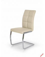Stylowe krzesło NARINE - kremowe w sklepie Dedekor.pl