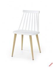 Przepiękne krzesło MONTREO - biel w sklepie Dedekor.pl