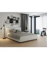 Łóżko Verona tapicerowane  białe 160/200 w sklepie Dedekor.pl
