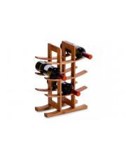 Bambusowy stojak na wino - 12 butelek w sklepie Dedekor.pl