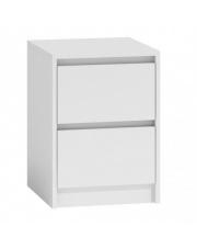 Stylowa szafka nocna MILLO - biała