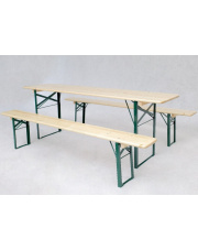 Zestaw piknikowy stół i 2 ławki w sklepie Dedekor.pl