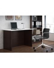 Świetne biurko LENORO - wenge i biel w sklepie Dedekor.pl
