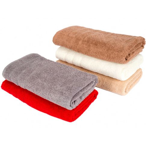 Ręcznik ecru Ernesto 50x100 w sklepie Dedekor.pl