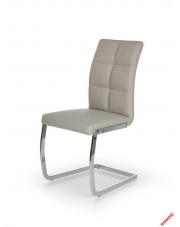 Komfortowe krzesło NARINE - jasny popiel w sklepie Dedekor.pl