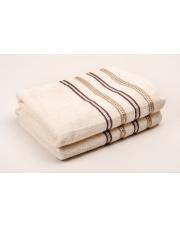 Ręczniki Nicola 130x70 ecru w sklepie Dedekor.pl