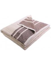 Ręczniki Ornament 130x70 beż w sklepie Dedekor.pl
