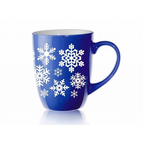 Kubek Bruno 300ml Niebieski Śnieżki w sklepie Dedekor.pl
