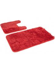 Zestaw dywaników do łazienki GRACE - 2 sztuki ceglaste w sklepie Dedekor.pl