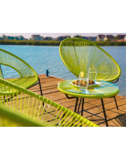 Fotel ogrodowy ARTI zielony w sklepie Dedekor.pl