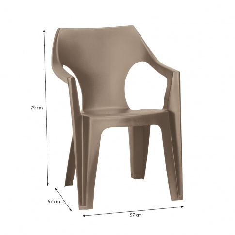 Modne krzesło ogrodowe DAN  w sklepie Dedekor.pl