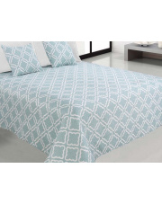 Dwustronna Narzuta na łóżko kapa BLUE 2 rozmiary