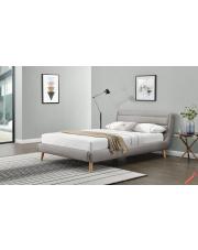 Stylowe łóżko MARGIO 160cm - jasny popiel w sklepie Dedekor.pl