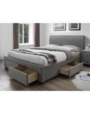 Stylowe łóżko ROSSO z szufladami w sklepie Dedekor.pl