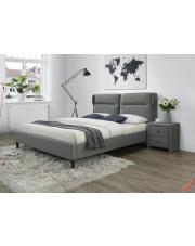 Nowoczesne łóżko HALIX - popielate w sklepie Dedekor.pl