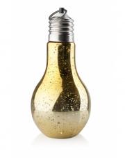 Żarówka LED dekoracyjna 20 cm złota w sklepie Dedekor.pl