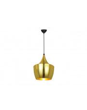 Złota lampa Gloster metalowa