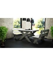 Zestaw ogrodowy ławka + stół  w sklepie Dedekor.pl