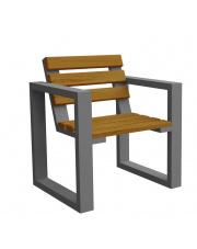 Drewniany fotel ogrodowy w sklepie Dedekor.pl