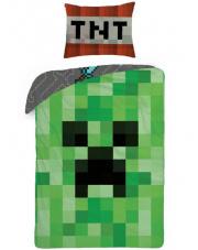 Pościel Minecraft zielona 140/200 cm w sklepie Dedekor.pl