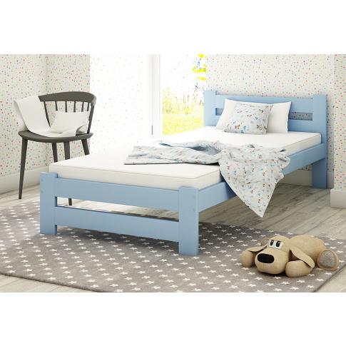 Łóżko dla chłopca 90x200 w sklepie Dedekor.pl